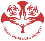 Asian Heritage Month logo, click here to return to the home page